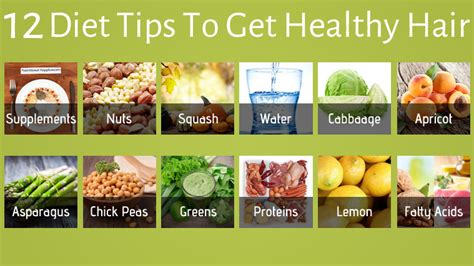 Healthy Food Kitchen Hair by 12 Diet Tips To Get Healthy Hair Health Beckon