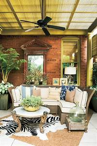 Porch decorating ideas southern living for Outdoor patio decor