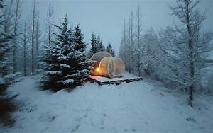 Winter Lights Aurora Iceland Has A 39 Buubble Hotel 39 Hidden In A Secluded Forest