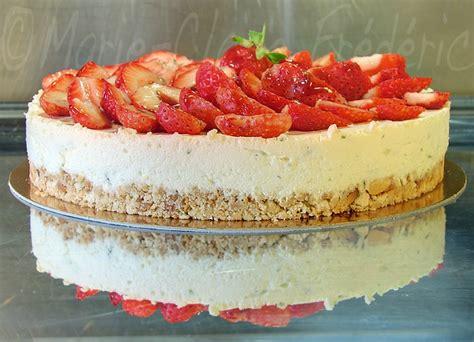 faux cheesecake vrai d 233 lice aux fraises et citron vert du miel et du sel