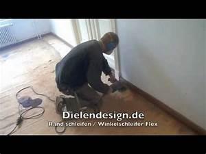 Stein Schleifen Mit Winkelschleifer : rand schleifen winkelschleifer flex dielen parkett youtube ~ Eleganceandgraceweddings.com Haus und Dekorationen