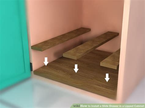 installing drawers in kitchen cabinets how to install a slide drawer in a lipped cabinet with 7543