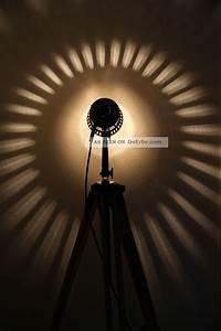 Retro Lampe Holz : tripod steh lampe holz stativ bauhaus loft vintage floor lamp art deco ~ Indierocktalk.com Haus und Dekorationen