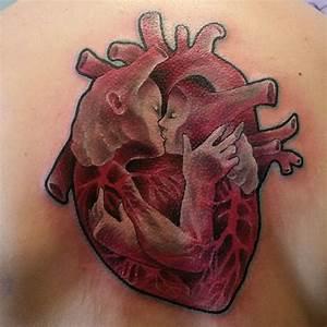 25+ best ideas about Anatomical heart tattoos on Pinterest ...