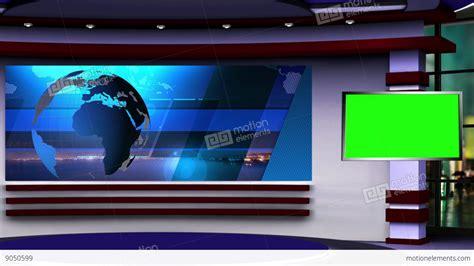 Tv Green Screen Template White by News Tv Studio Set 107 Virtual Green Screen Background