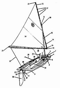 Sears Jetwind Sail Boat Parts