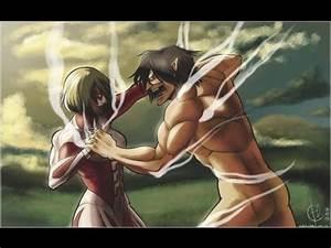 Eren VS Annie - Shingeki no Kyojin ( 進撃の巨人) - YouTube