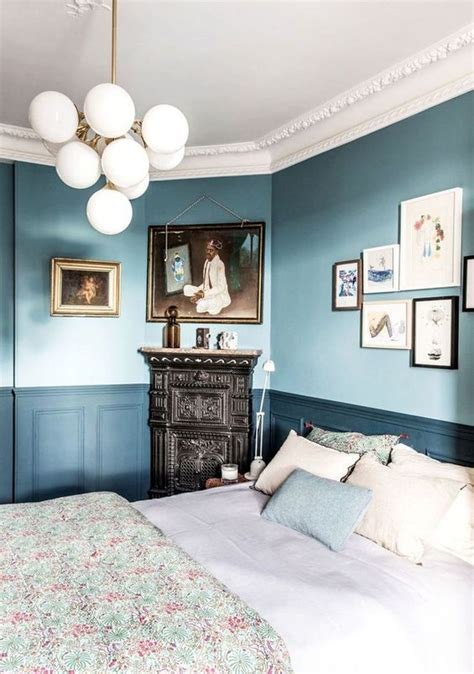 two tone bedroom walls two tones painted walls and a beautiful on