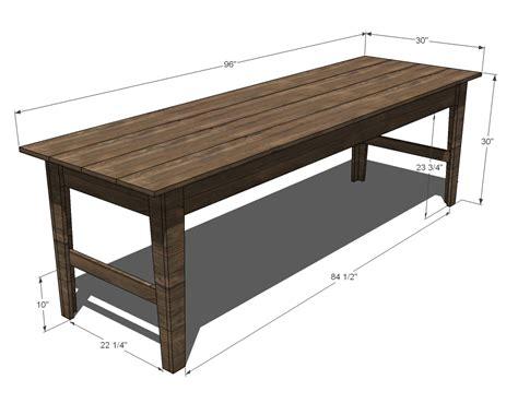 long narrow dining table pdf diy long narrow dining table plans download make diy