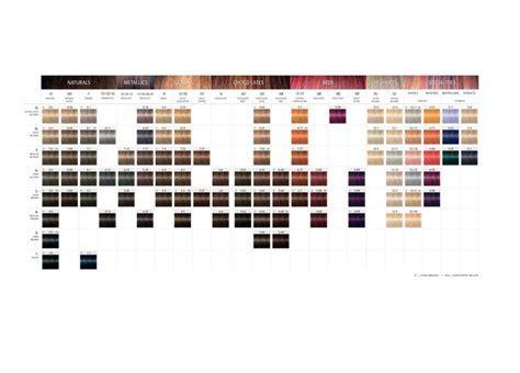 Igora Royal Product Range Color Chart