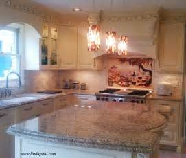 Italian Kitchen & backsplash neutral colors inspired