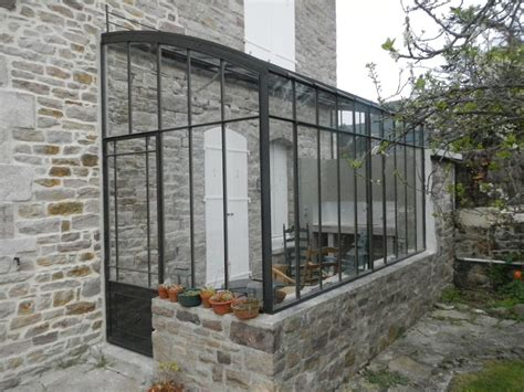 serre de jardin adossee au mur en bretagne une serre adoss 233 e nich 233 e contre la maison serres et fer 173 173 ne 173 ries d antan