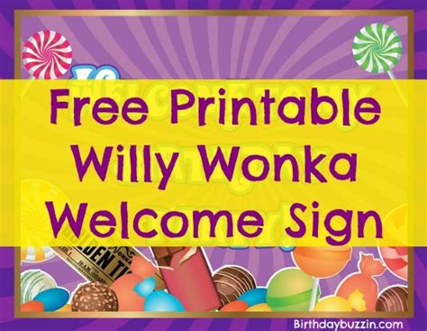 pin  willy wonka party