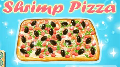jeu de cuisine pizza jeu de pizza de la mer