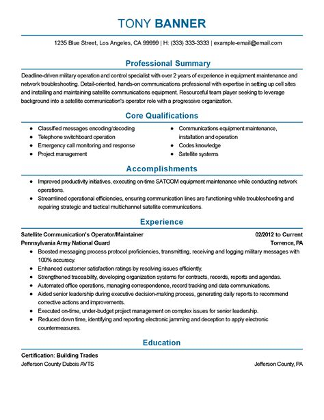 communications resume help 28 images professional