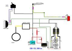 Printable Basic Electrical Wiring Diagram Garage by Simple Motorcycle Wiring Diagram For Choppers And Cafe