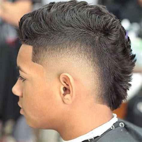The Mohawk Fade Haircut   Men's Haircuts   Hairstyles 2017