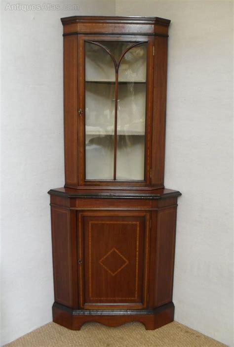 Cabinets Dealer Code by Corner Display Cabinet Antiques Atlas