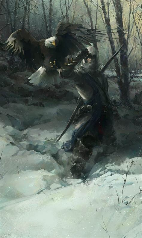 assassins creed iii concept art  william wu concept