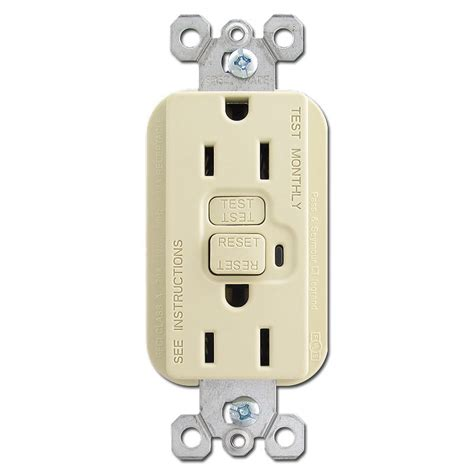 light switch with outlet ivory 15a gfi outlet kyle switch plates
