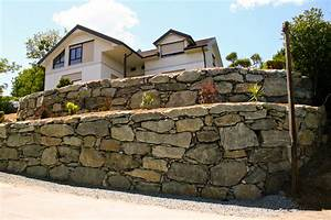 Natursteinmauern Im Garten : natursteinmauer steinmauer b schungsgestaltung bieler christian ~ Markanthonyermac.com Haus und Dekorationen