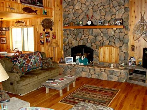home and decor flooring rustic lake house decorating ideas with wooden wall and