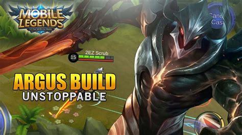 Mobile Legends Argus Unstoppable Build