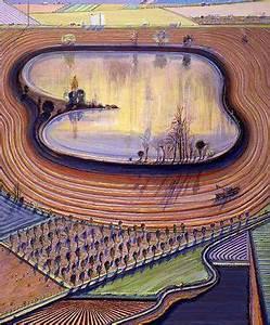 Wayne Thiebaud landscape | Wayne Thiebaud | Pinterest