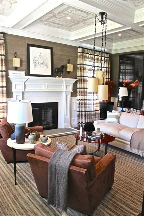 Handsome Showhouse Rooms by 2012 Hton Designer Showhouse Study
