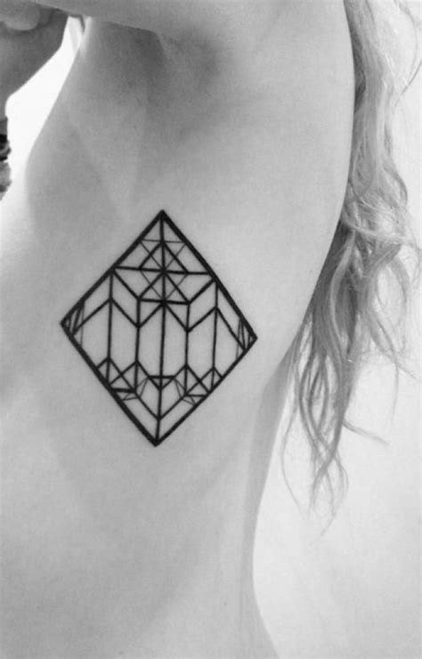 Geometric black and white tattoo - | TattooMagz › Tattoo Designs / Ink Works / Body Arts Gallery