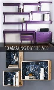 DIY Repurposed Metal Shelves
