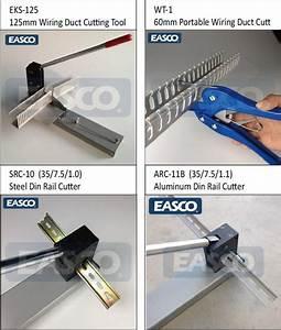 Manual Cutting Machine Aluminum Din Rail Cutter By Easco