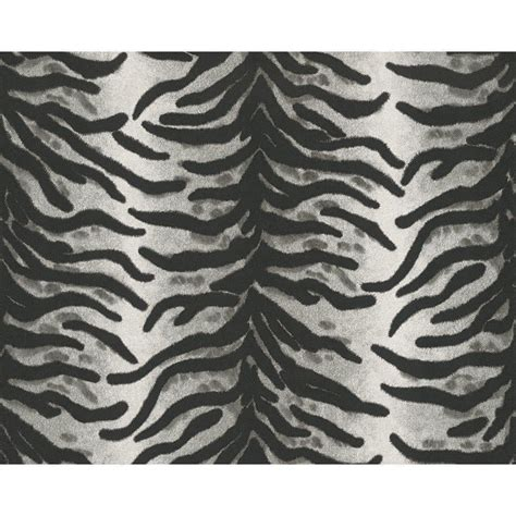 Animal Print Wallpaper Black And White - as creation black and white zebra animal print wallpaper