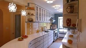 Streamline Moderne Kitchen design for a 1920s-era Art Deco