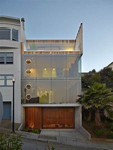 Three, Storey, Glass, Tower, House, In, San, Francisco