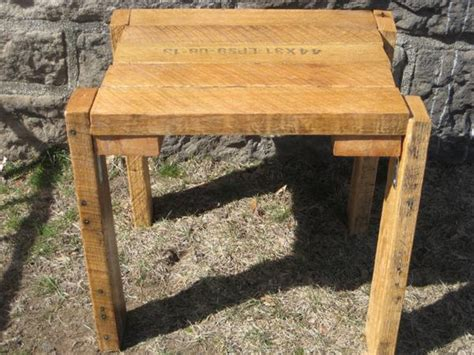 diy rustic pallet mini table wooden pallet furniture