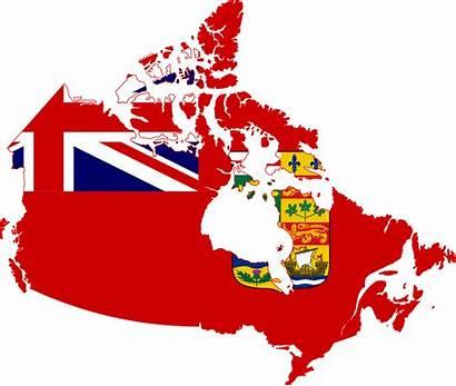 Flag Canada Map 1964 Svg 1868 1921
