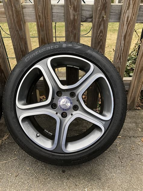 """We go through the pros and cons of these tires and pick out the best run flat tires you can buy. FS - MA - 4x OEM - 17"""" Mercedes CLA 250 Wheels - 5x112 - With Pirelli Run Flats - MBWorld.org Forums"""