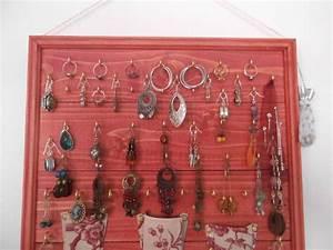 Fabriquer Un Porte Bijoux : porte bijoux fabrication tutoriel pris co ~ Melissatoandfro.com Idées de Décoration