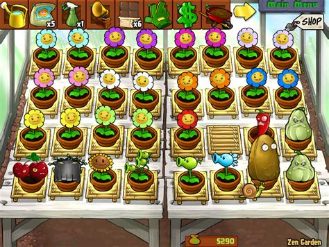 plants vs zombies zen garden microan 225 lisis plants vs zombies todovideojuegos