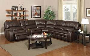 E motion belmont shores 4753 power reclining brown for Sectional sofa with reclining ends