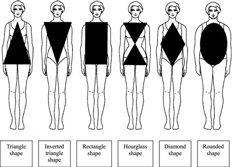 types  womens body shapes  figures bellatory