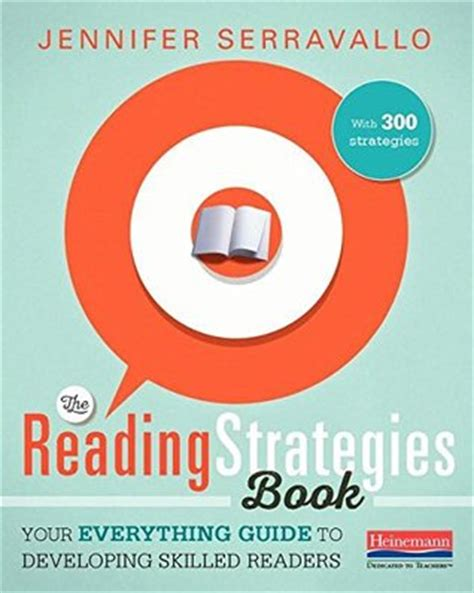 reading strategies book   guide