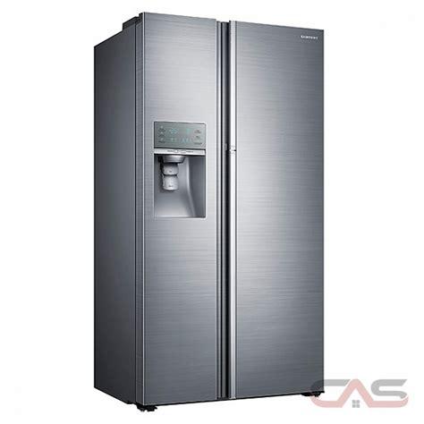 samsung side by side rh22h9010sr samsung refrigerator canada best price reviews and specs toronto ottawa