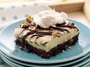 Turtle Brownie Ice Cream Dessert - Life Made Delicious