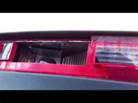 how to replace the rear bumper light bulb audi q7