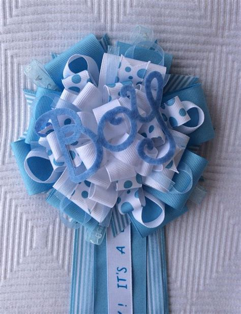 Baby Shower Pins For Corsages Boy Baby Shower Corsage Quot It S A Boy Quot Blue