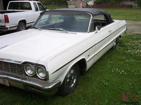 1964 Chevy Impala Convertible  409  4 Speed