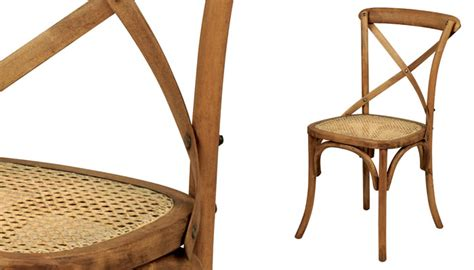 chaise bistrot rotin chaise bistrot en chêne ciré