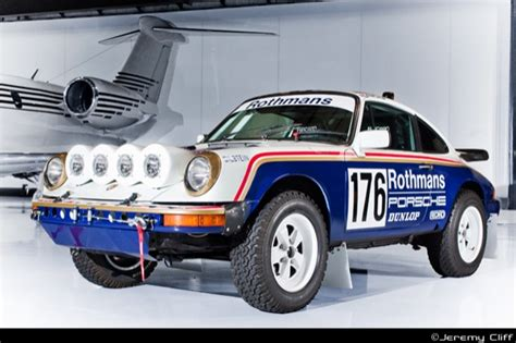 rothmans porsche rally mud in yer eye 1980 porsche 953 rally tribute bring a